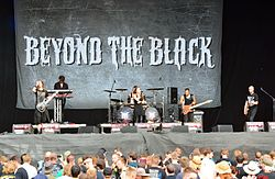 Beyond the Black beim Reload Festival (2015)