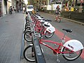 Bicing bike share, La Rambla, Barcelona, Spain - panoramio.jpg