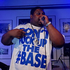 Big Narstie performing at EP launch.JPG
