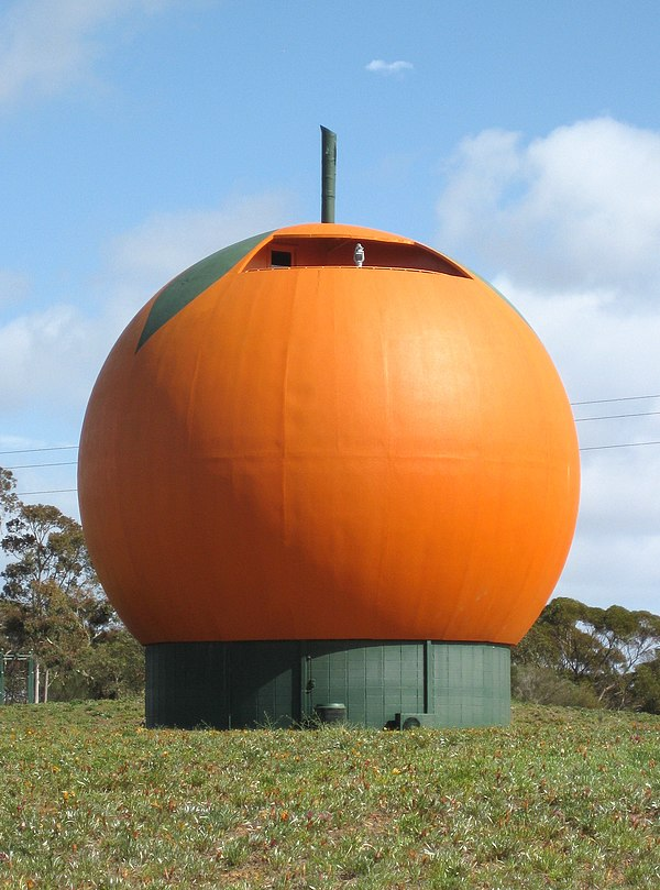 Orange Australia  city images : Big Orange South Australia IMAGES VIDEOS