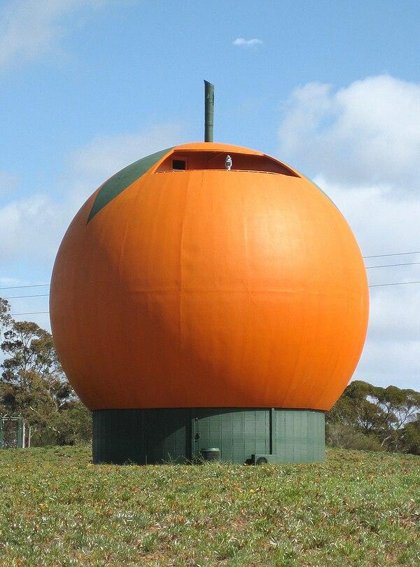 Orange Australia  city photos gallery : Big Orange South Australia IMAGES VIDEOS