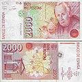 Billete de dos mil pesetas - José Celestino Mutis.jpg