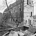 Binnenplaatsgevel van de zuidvleugel, het woonkloosterdeel - Leiden - 20135337 - RCE.jpg