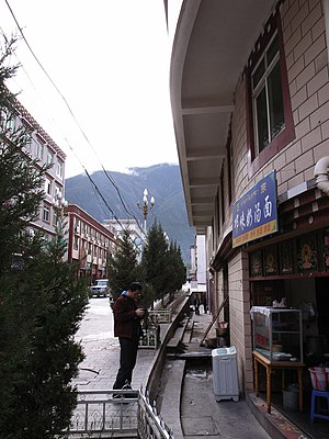 Batang, Sichuan - Bistro in Batang