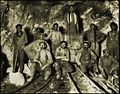 Black, Chinese & White Laborers In A Gold Mine In South Africa (c1890-1923) Frank & Frances Carpenter (RESTORED) (4079402424).jpg