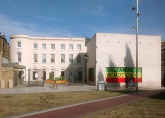 Raleigh Hall - Image: Black Cultural Archives, external from Windrush Square, Brixton