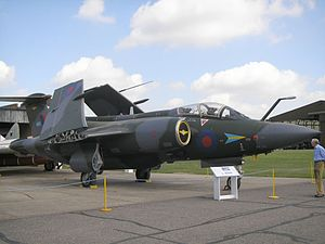 Blackburn Buccaneer outside at IWM Duxford in May 2006.JPG