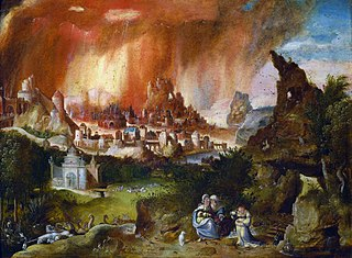 Landscape with Sodom on Fire