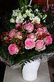 Blumensträuße mit Rosen und Gerbera August 2012.JPG