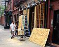 Boarding up Irene New York 2011 Shankbone.JPG