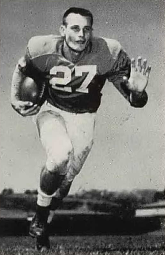 Bob Davenport - Davenport from 1954 Southern Campus