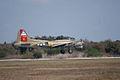 Boeing B-17G-85-DL Flying Fortress Nine-O-Nine Landing Approach 15 CFatKAM 09Feb2011 (14797314487).jpg
