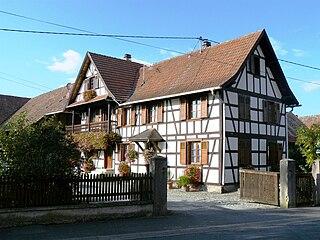 Bœsenbiesen Commune in Grand Est, France