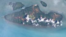 Boigu Island-Geography-Boigu Island (Landsat)