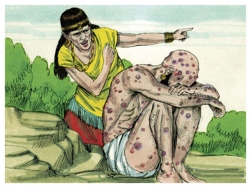 File:Book of Job Chapter 2-3 (Bible Illustrations by Sweet