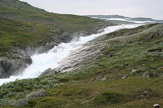 Vest-Telemark district in Telemark, Norway
