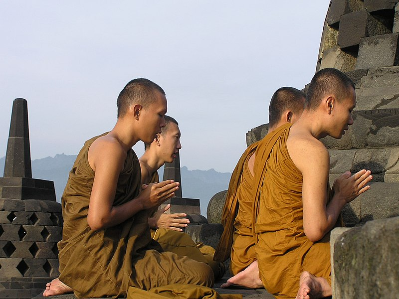 File:Borobudur monks 1.jpg