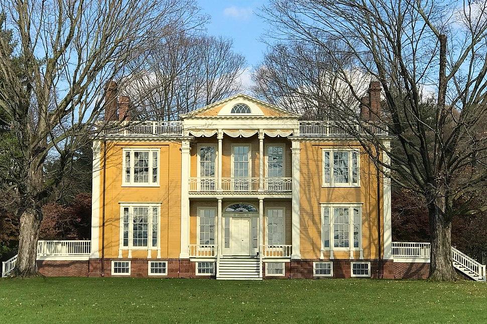 Boscobel, Garrison, NY - front facade