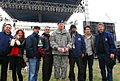 Boss with USO supporters.JPG
