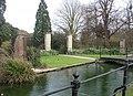 Botanic Gardens gate - geograph.org.uk - 709221.jpg