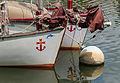 Bouée, proues bâteaux scouts marins, la Rabine, Vannes, Morbihan.jpg
