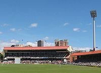 A southward view towards the Bradman stand
