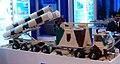 BrahMos missile autonomous launcher maquette MAKS2009.jpg