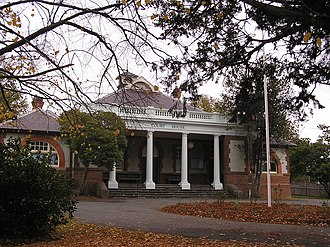 Braidwood, New South Wales - The Braidwood Courthouse, built in 1901