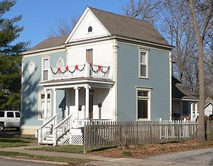 National Register of Historic Places listings in Callaway County, Missouri - Image: Brandon Bell Collier house from SE 1