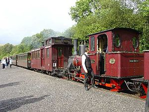Great Little Trains of Wales - Image: Brecon Mountain Railway train