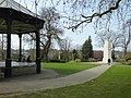 Brenchley Gardens Bandstand with Cenotaph bbb0112.JPG