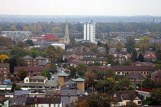 Brentford - Image: Brentford skyline