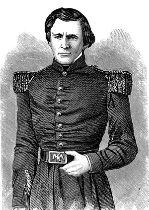 Ulysses S. Grant - Second lieutenant Grant in full dress uniform in 1843