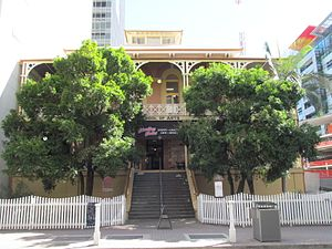 Brisbane School of Arts - School of Arts building in Brisbane, 2013