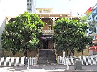 Brisbane School of Arts - School of Arts building in Brisbane, 2013