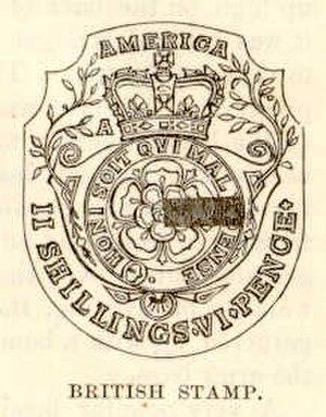 Thomas McKean - British revenue stamp