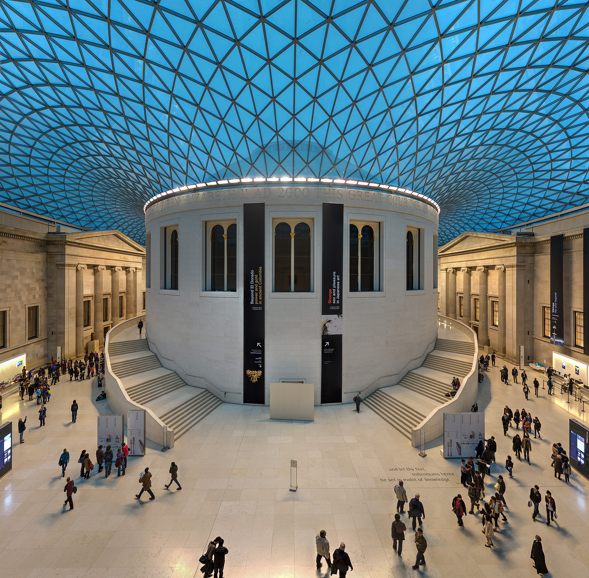 British Museum Great Court, London, UK - Diliff