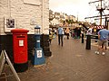 Brixham, postbox No. TQ5 19, The Strand - geograph.org.uk - 1464869.jpg