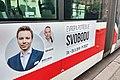 Brno, Veveří, předvolební banner Pirátů 2019-05-14 19.00.16.jpg