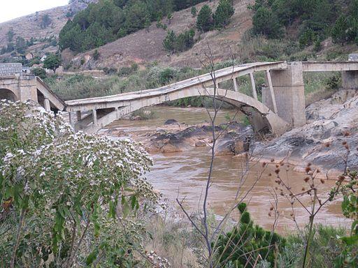 Broken bridge, Madagascar