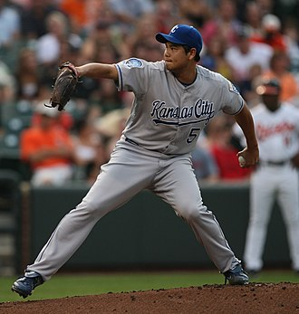 Bruce Chen - Chen with the Kansas City Royals