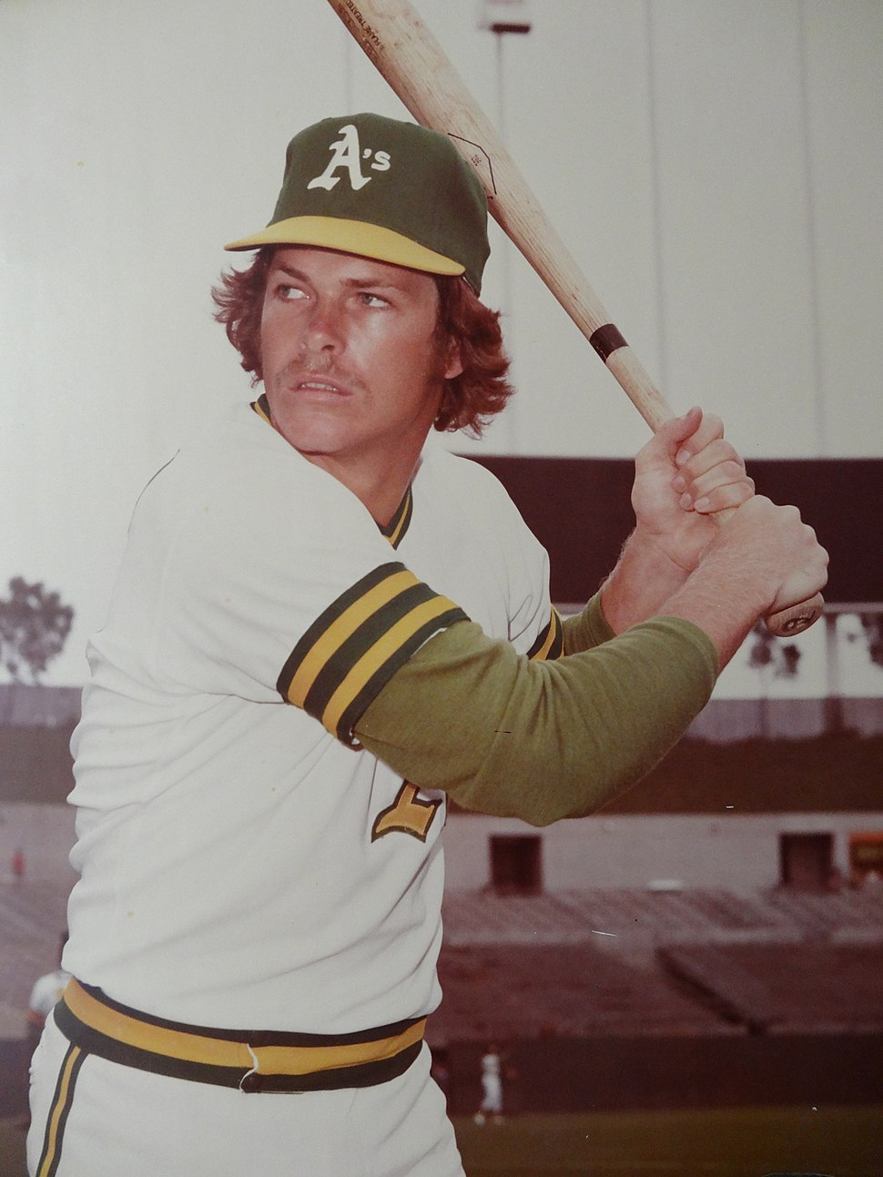 Bruce Robinson Oakland A's 1975