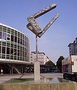 Brunnen am Berliner Platz in Ludwigshafen