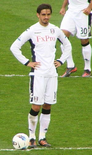Bryan Ruiz - Ruiz playing for Fulham in 2012