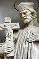 Budapest-Pesthidegkút, templomkerti Nepomuki Szent János-szobor 2021 13.jpg