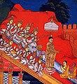 Buddha descending from Tavatimsa.jpg