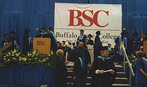 Buffalo State College - Buffalo State College Graduation, 1997