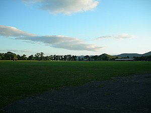 Bught Park, Inverness. Taken at 9.15 in the ev...