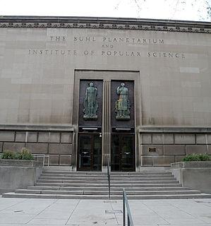 Buhl Planetarium and Institute of Popular Science Building
