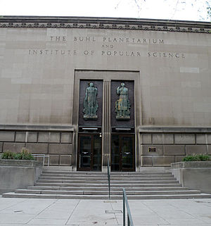 Children's Museum of Pittsburgh - The former Buhl Planetarium building is now part of the Children's Museum